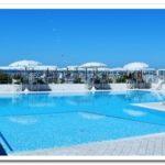 vista della piscina del bagno Costa Azzurra
